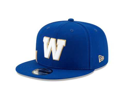 Men's Winnipeg Blue Bombers CFL On-Field Sideline 9FIFTY Cap