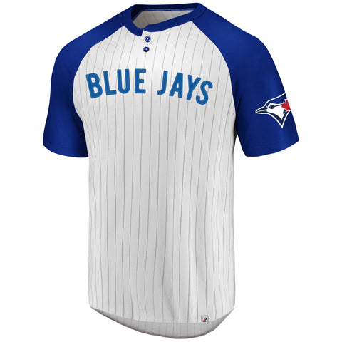 Toronto Blue Jays MLB Everything In Order Pinstripe Tee