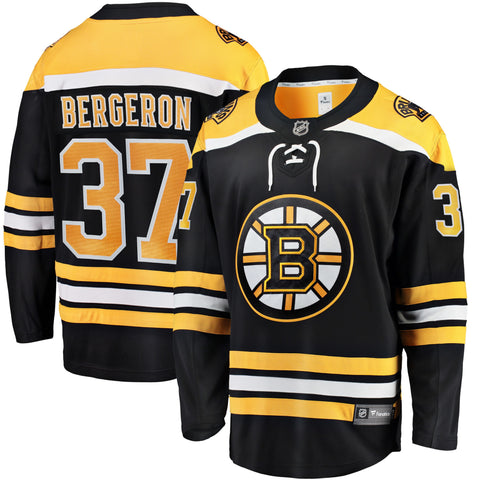 Patrice Bergeron Boston Bruins NHL Fanatics Breakaway Home Jersey