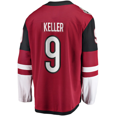 Clayton Keller Arizona Coyotes NHL Fanatics Breakaway Home Jersey