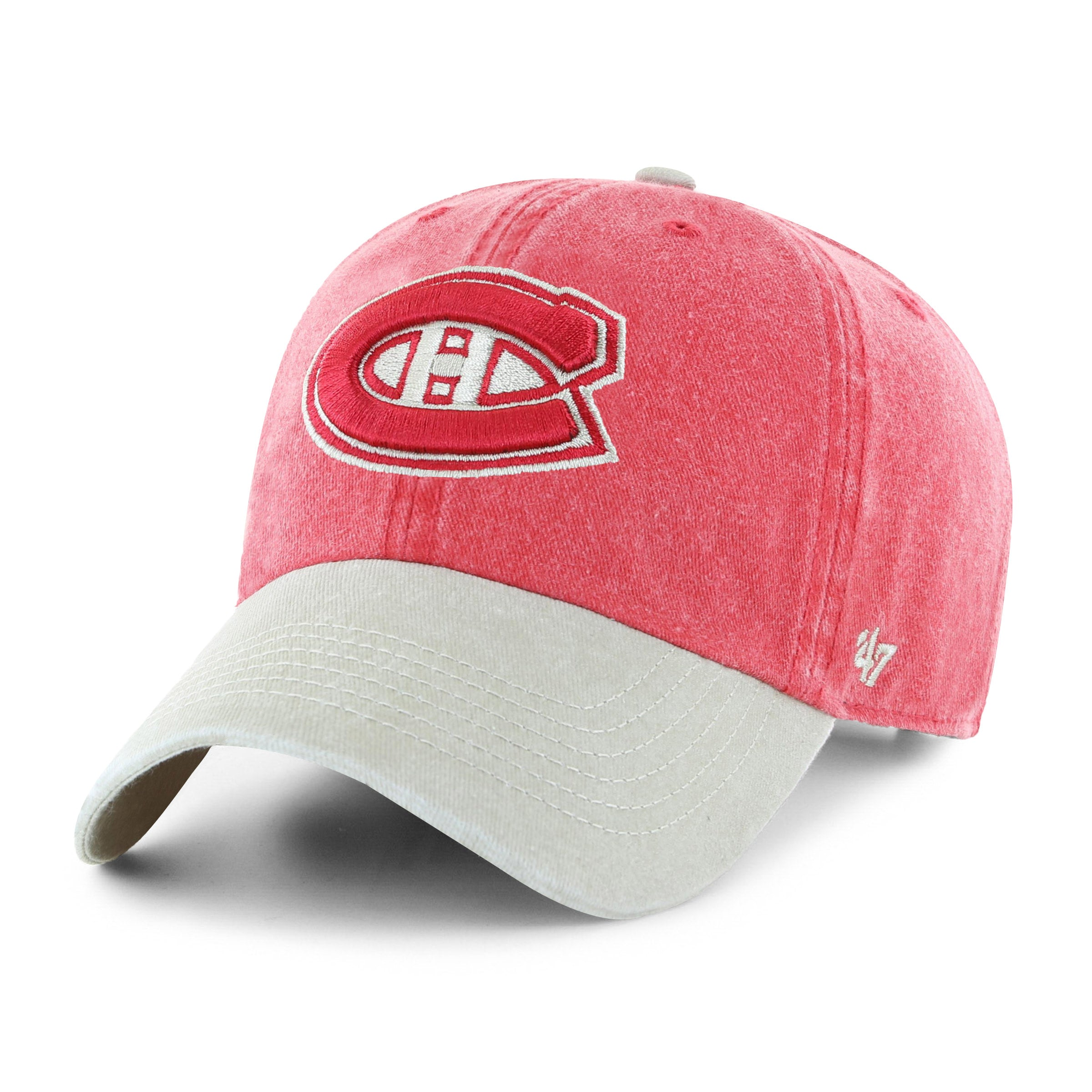 release date a80fc d5f1a NHL Montreal Canadiens Summerland Two Tone Clean Up Cap – Sport Army