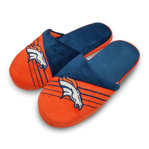 Denver Broncos Men's Big Logo Slippers