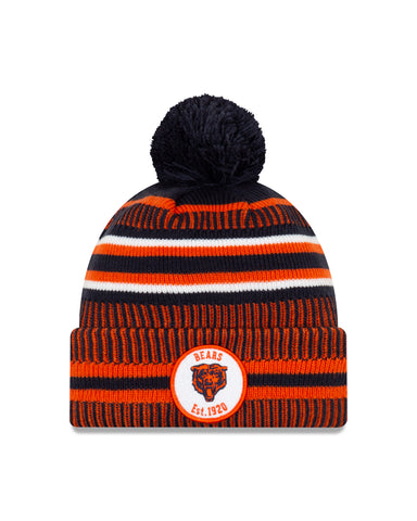 Chicago Bears NFL New Era Sideline Home Official Alt Logo Cuffed Knit Toque