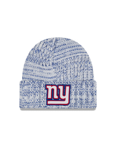Ladies' New York Giants NFL New Era Sideline Team logo Cuffed Knit Toque