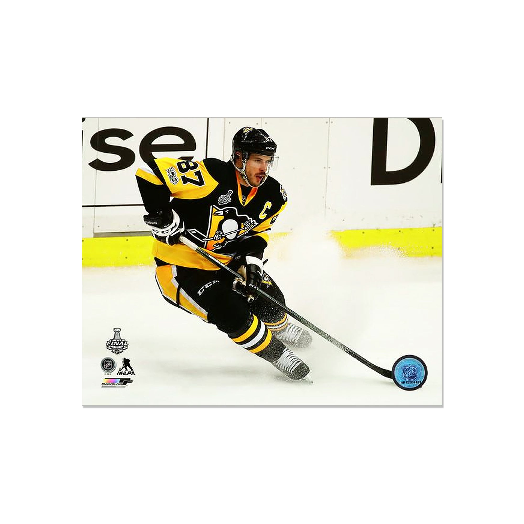 finest selection 7bfcb c183b Action Stop Photographs Sidney Crosby Pittsburgh Penguins ...