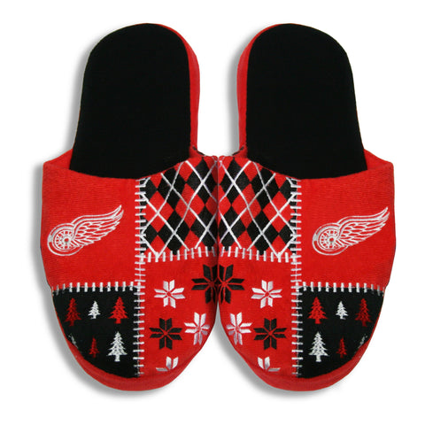 Detroit Red Wings Men's Ugly Slippers