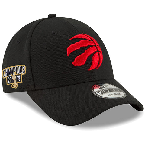 Toronto Raptors 2019 NBA Finals Champions Side Patch 9FORTY Adjustable Hat