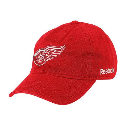 Detroit Red Wings NHL Reebok Big Logo Velcro Cap
