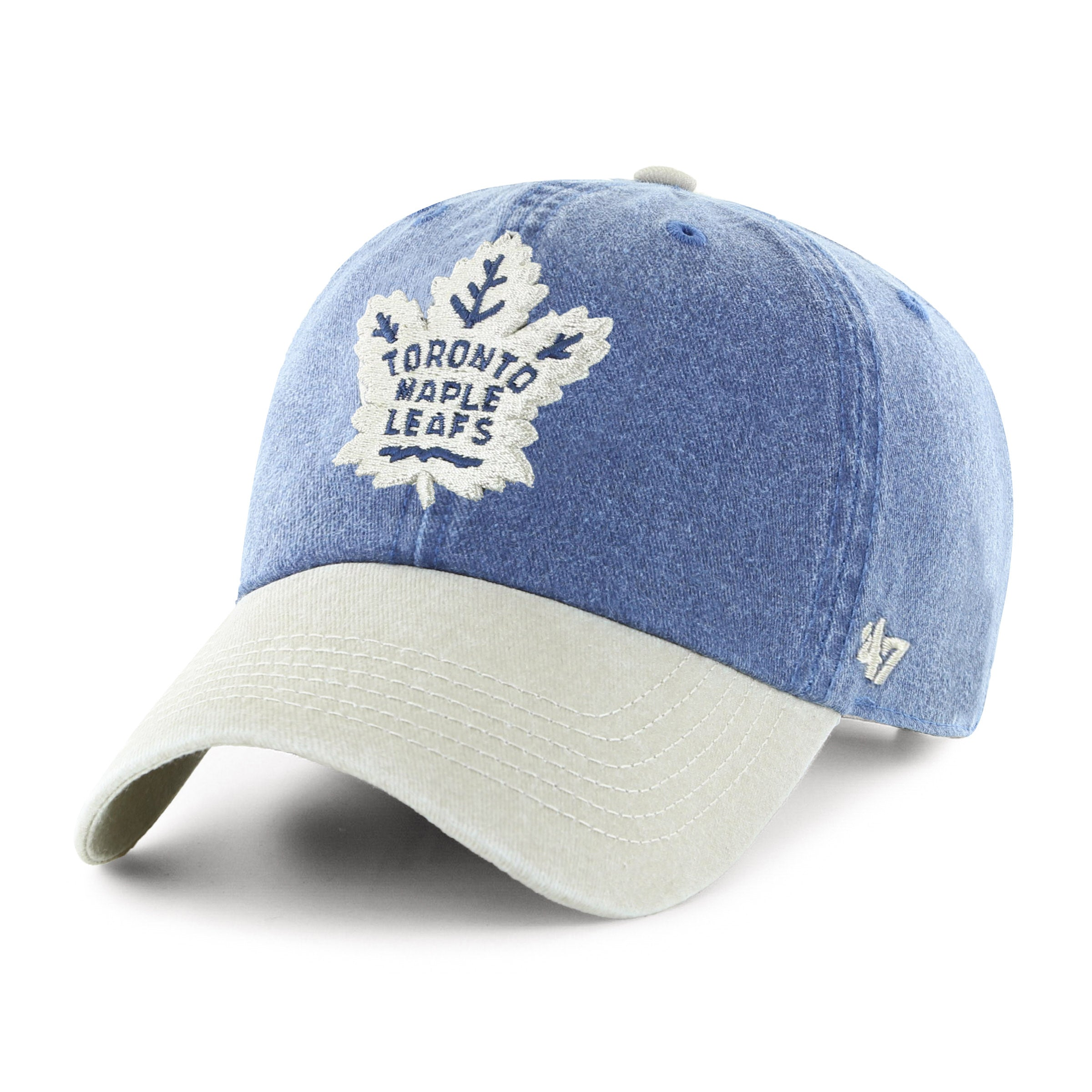 huge discount eb18b ba347 NHL Toronto Maple Leafs Summerland Two Tone Clean Up Cap – Sport Army