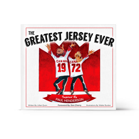 The Greatest Jersey Ever Children's Book