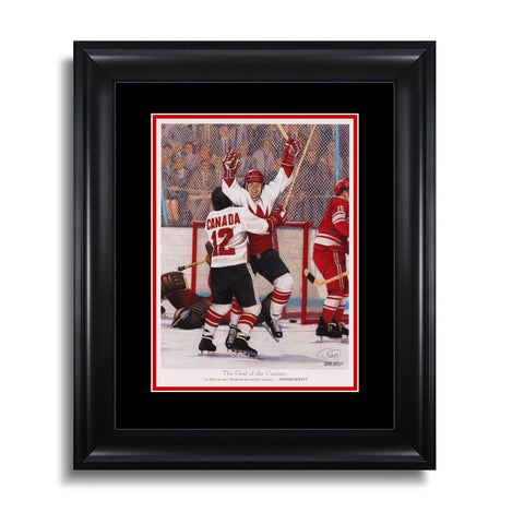 The Goal of the Century – Paul Henderson Legends Series Print