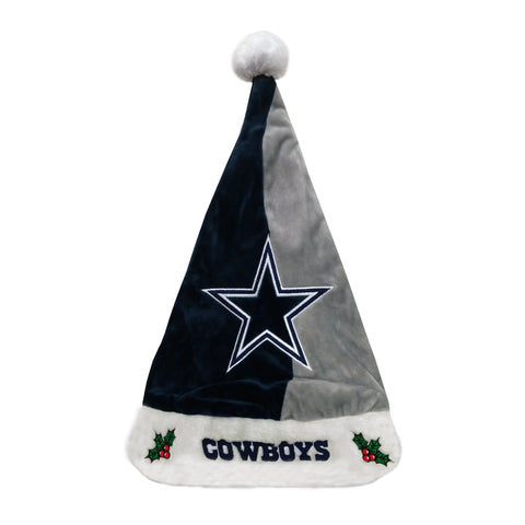 Dallas Cowboys Colorblock Santa Hat
