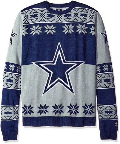 Dallas Cowboys NFL Big Logo Ugly Sweater