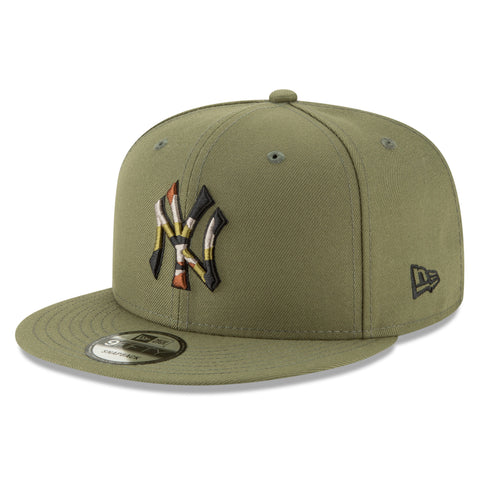 New York Yankees MLB Camo Trim 9FIFTY Cap