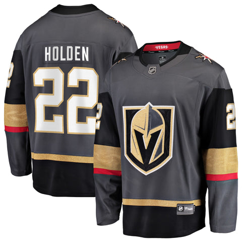 Nick Holden Vegas Golden Knights NHL Fanatics Breakaway Home Jersey