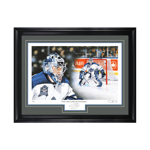 The Last Line of Defense – Curtis Joseph Signed Limited Edition Print