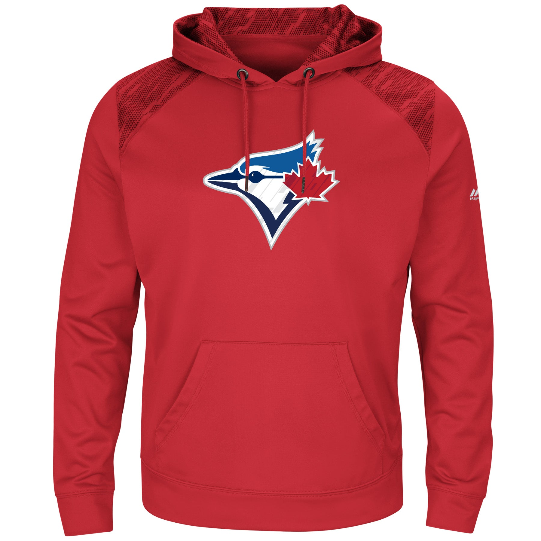 size 40 19480 b5578 Toronto Blue Jays Strong Lead Red Hoodie