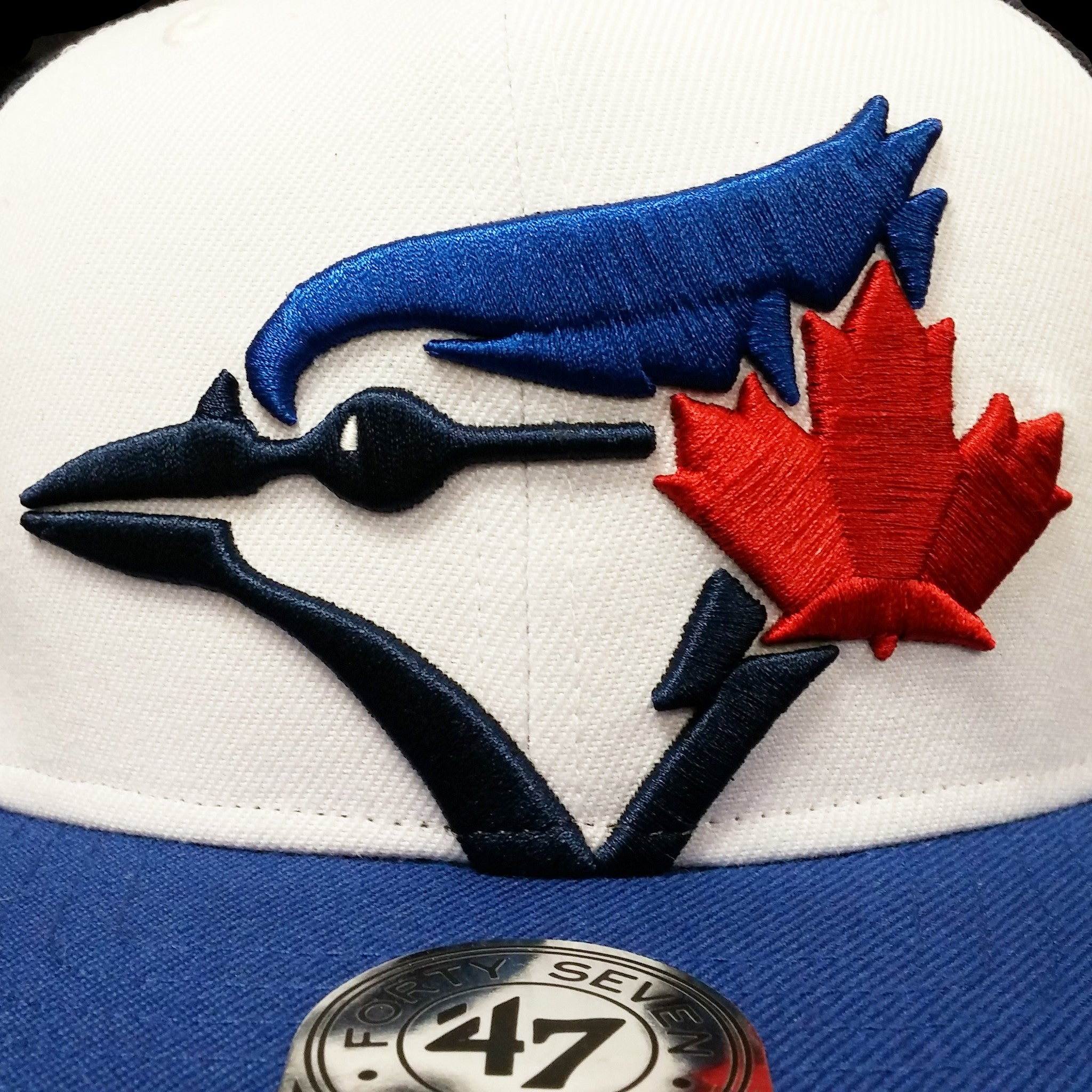 7d4981f0c1a67 MLB Toronto Blue Jays Tri-Color Colossal Cap – Sport Army