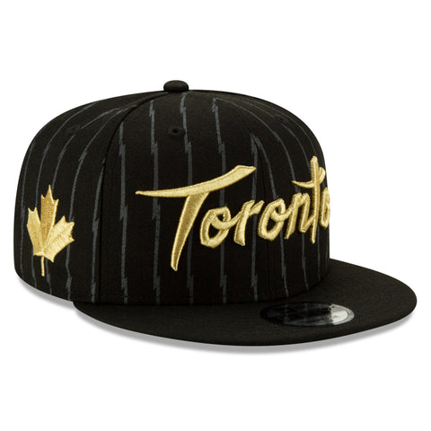 Men's Toronto Raptors NBA Authentics City Series Holiday Pack Striped 9FIFTY Snapback Cap