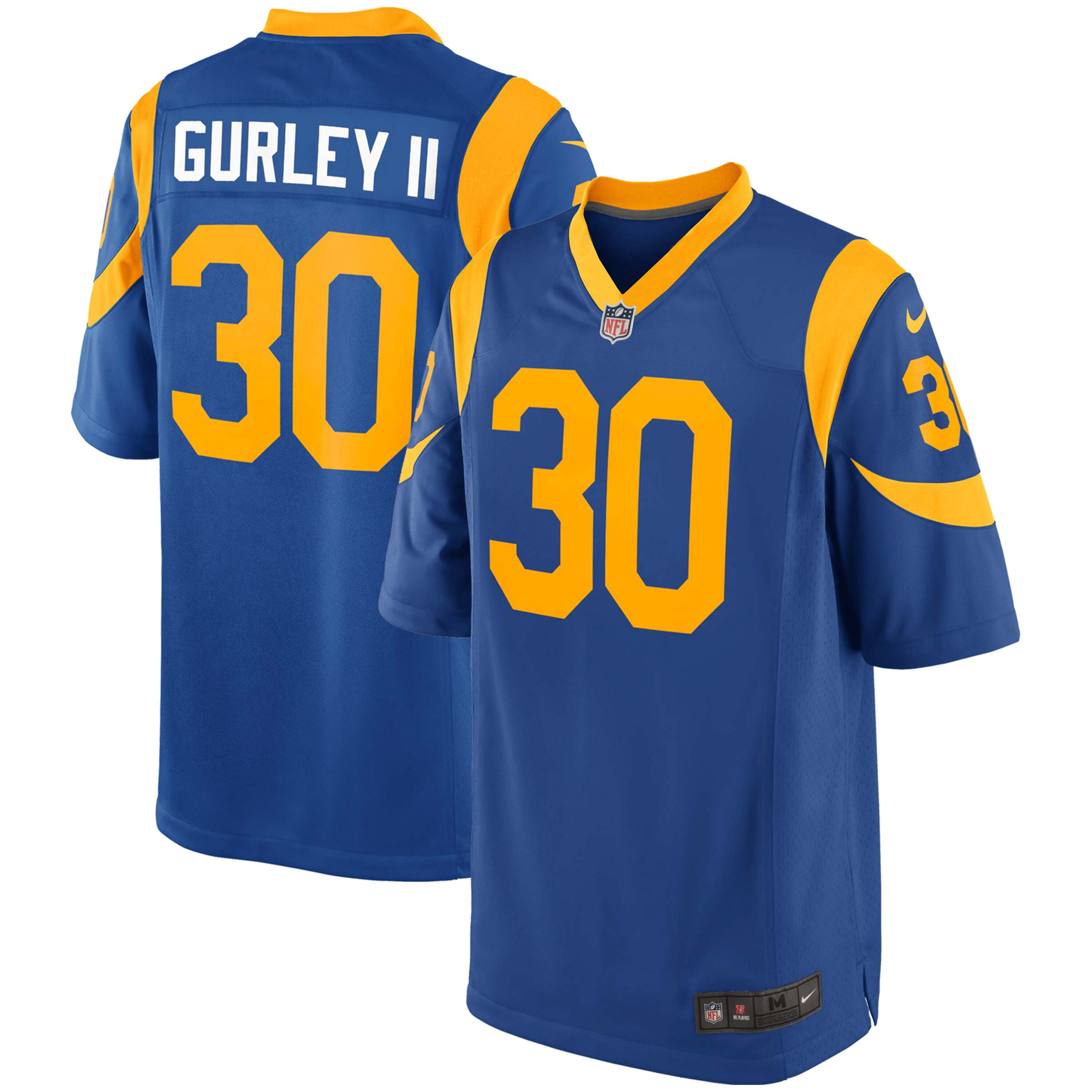 half off 93b0a 293db Youth Todd Gurley Los Angeles Rams Nike Game Team Jersey