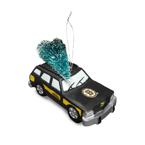 Boston Bruins NHL Station Wagon Tree Ornament