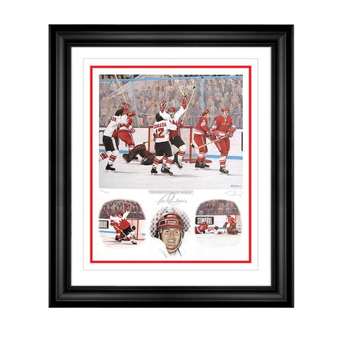 Henderson Scores for Canada – Paul Henderson Signed Limited Edition Summit Series Print