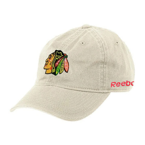 Chicago Blackhawks NHL Reebok Adjustable Slouch Cap