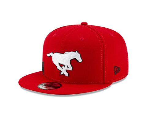 Men's Calgary Stampeders CFL On-Field Sideline 9FIFTY Cap