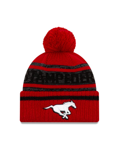 Men's Calgary Stampeders CFL On-Field Sport Knit Toque