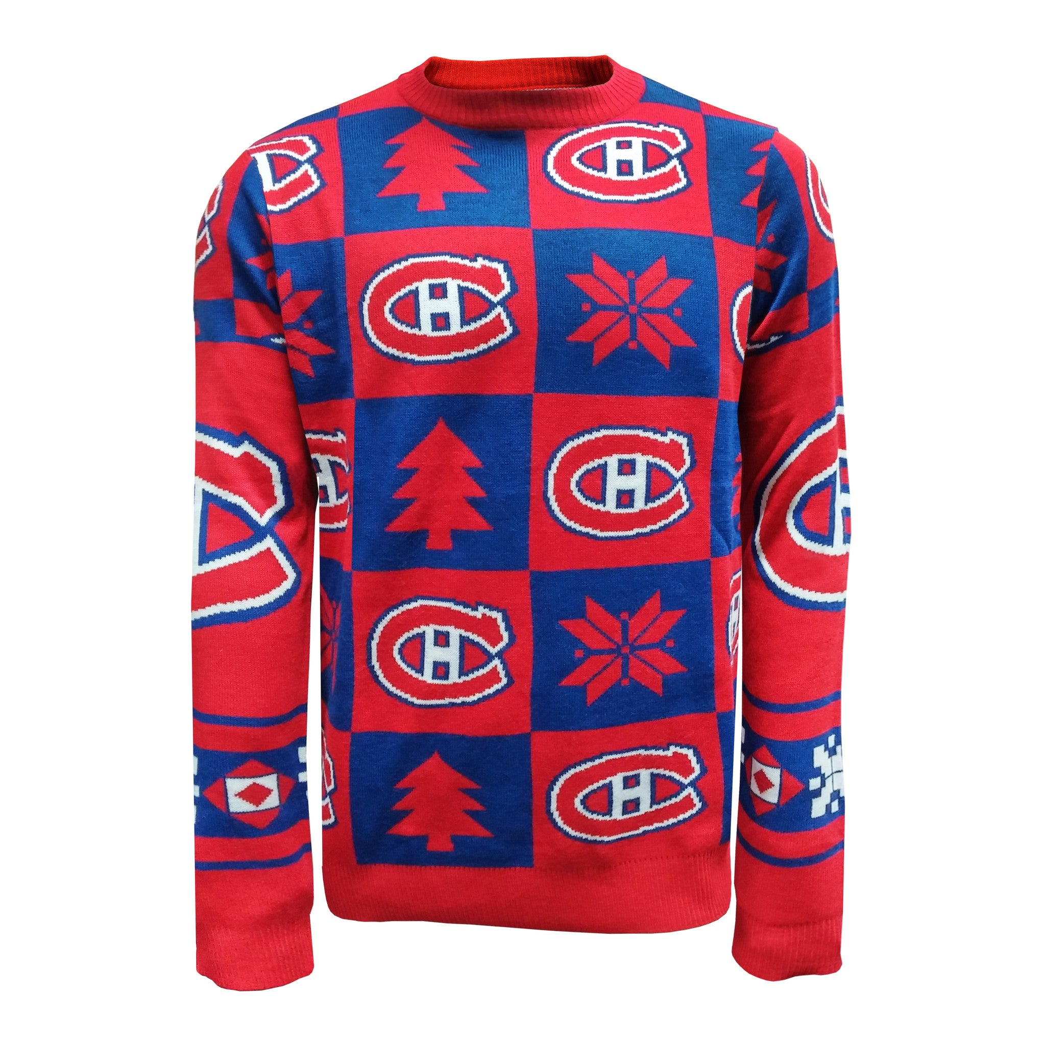 25ca4dd3 Montreal Canadiens Men's Ugly Patchwork Sweater – Sport Army