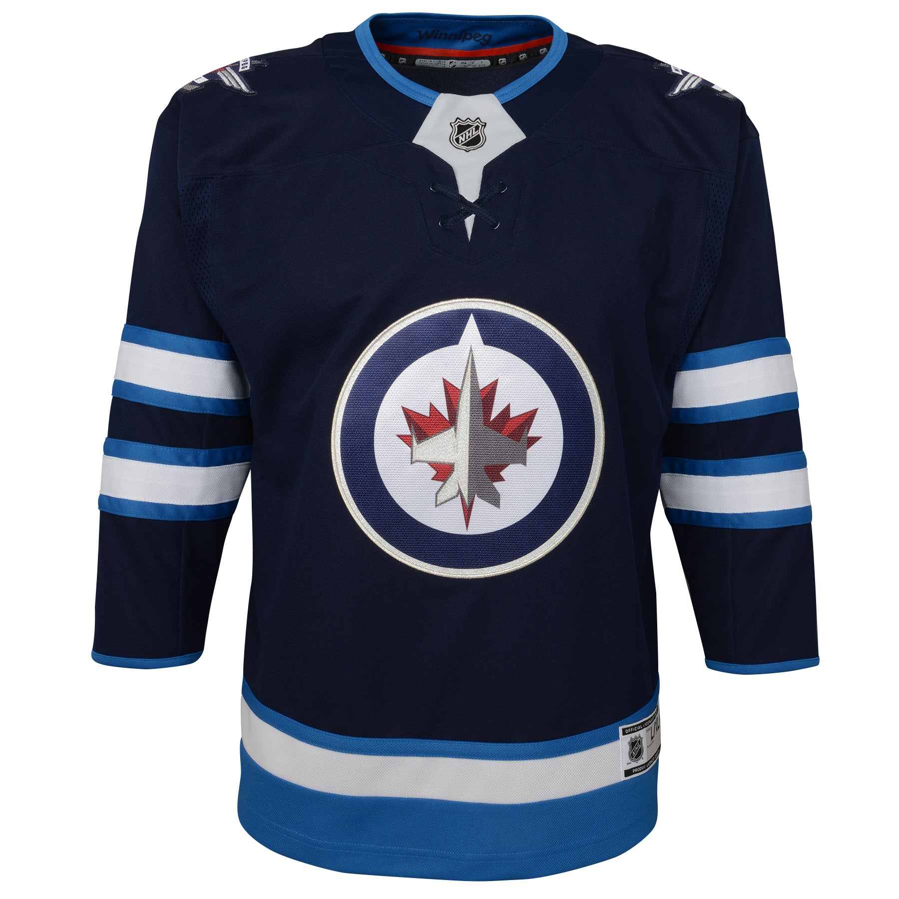 release date: a1413 99cc3 Youth Winnipeg Jets Premier Team Color Jersey