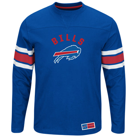 Buffalo Bills Power Hit Long Sleeve Tee