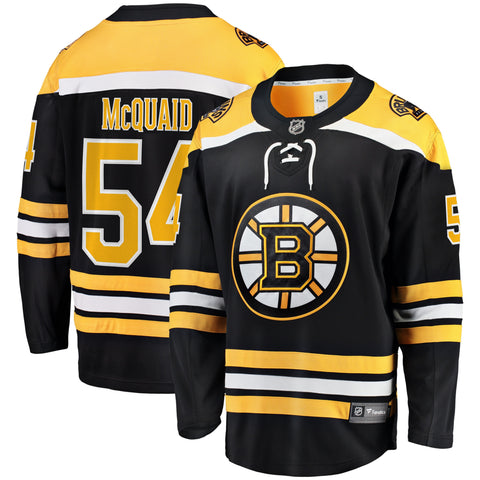Adam McQuaid Boston Bruins NHL Fanatics Breakaway Home Jersey