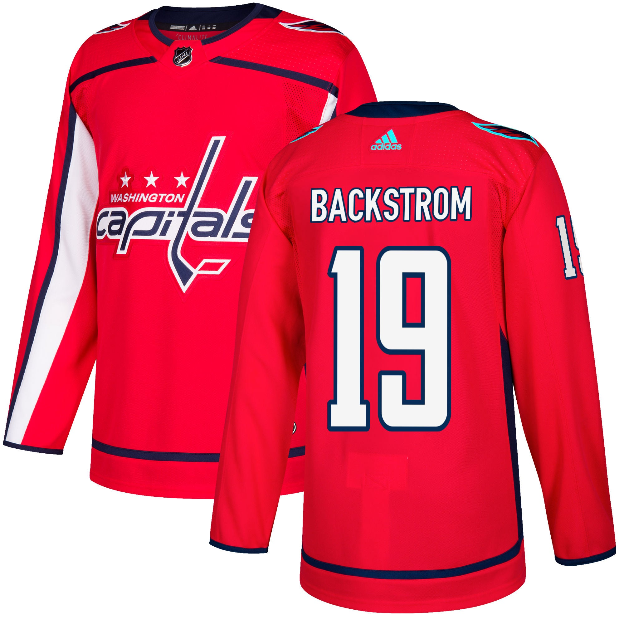 designer fashion 5cb19 0d7c4 Washington Capitals Nicklas Backstrom NHL Authentic Pro Home Jersey