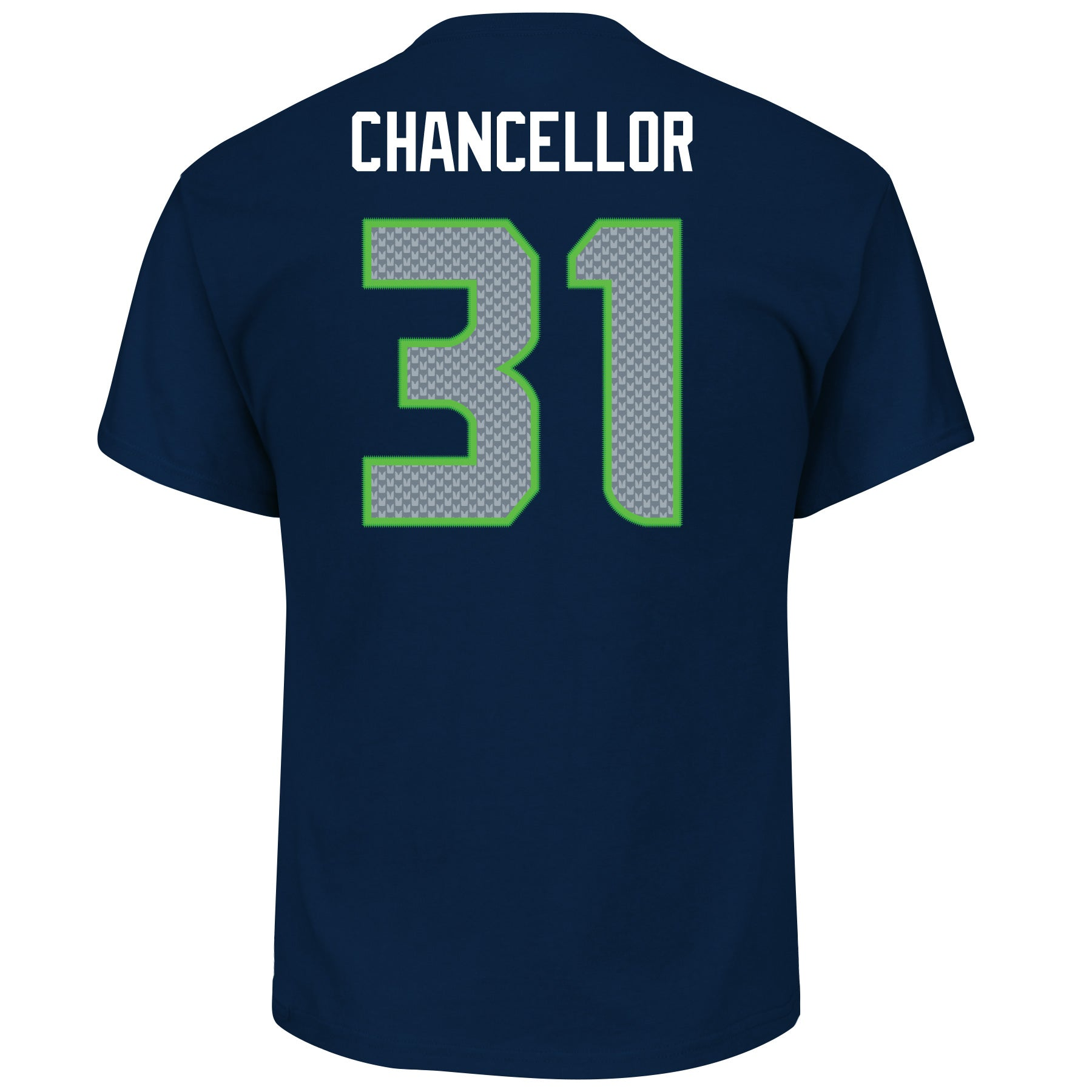 d3524418 Seattle Seahawks Kam Chancellor #31 Athletic Navy Eligible Receiver T-Shirt