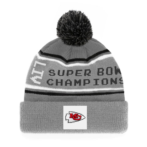 Men's Kansas City Chiefs 2019 NFL Super Bowl LIV Parade Cuffed Knit Toque