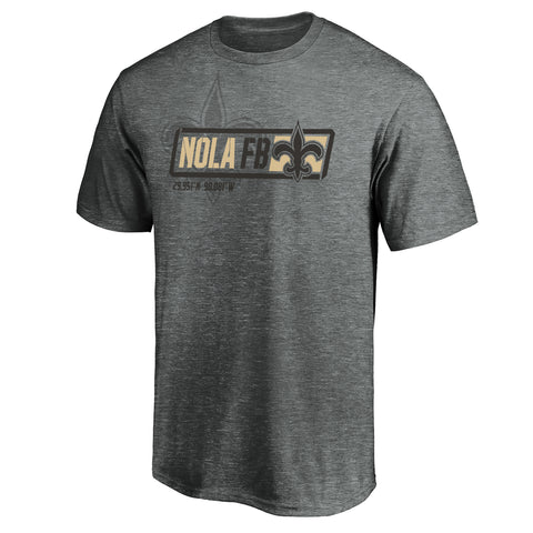 New Orleans Saints NFL Tricode Trainer T-Shirt