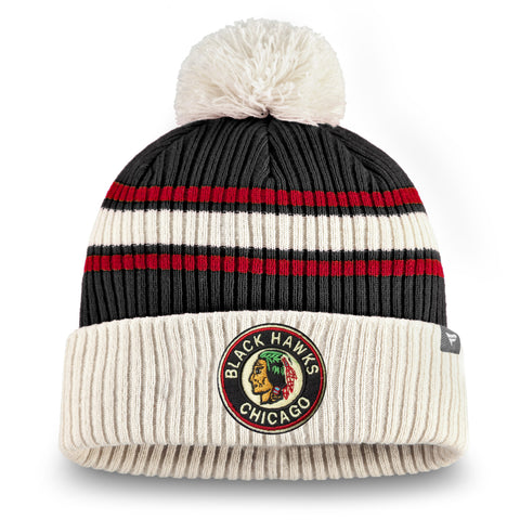 Chicago Blackhawks NHL True Classic Cuffed Knit Toque