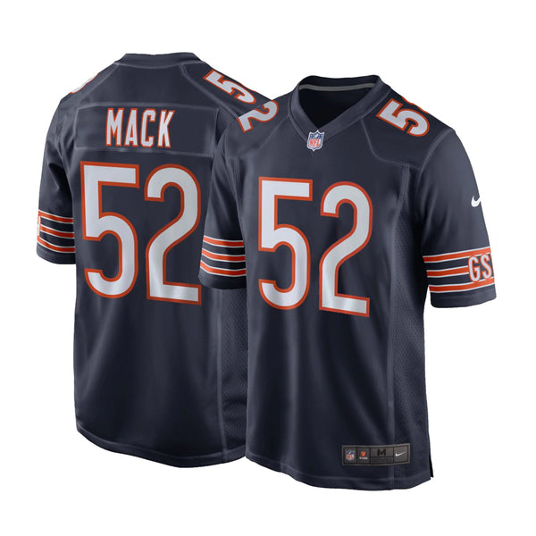 premium selection bedc9 68886 Youth Khalil Mack Chicago Bears Nike Game Team Jersey