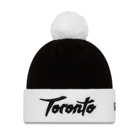 Men's Toronto Raptors NBA Authentics City Series Holiday Pack White Cuffed Pom Knit Toque