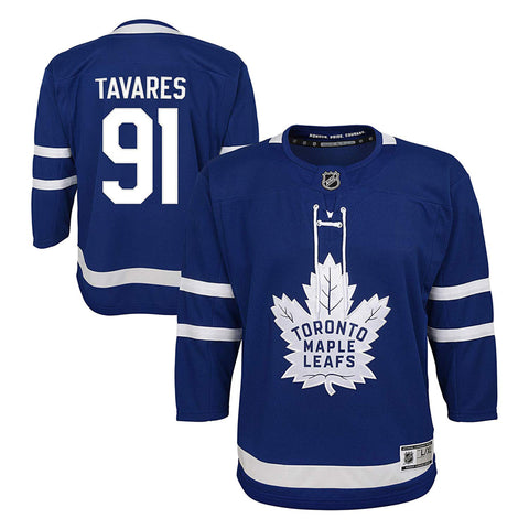 Youth John Tavares Toronto Maple Leafs NHL Premier Home Team Jersey