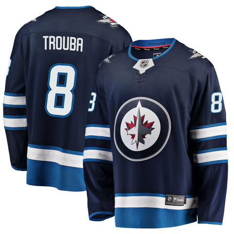 Jacob Trouba Winnipeg Jets NHL Fanatics Breakaway Home Jersey