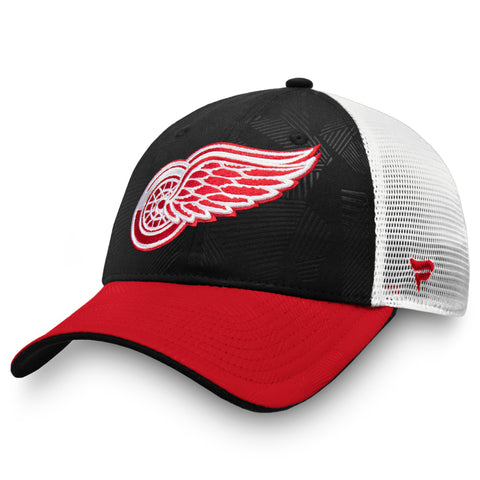 Detroit Red Wings NHL Revise Iconic Trucker Adjustable Cap