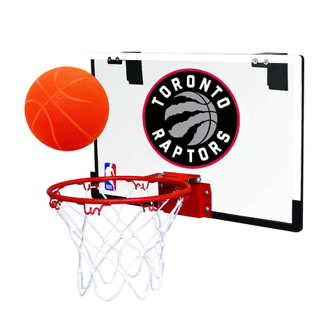 Toronto Raptors NBA Polycarbonate Game On Hoop Set
