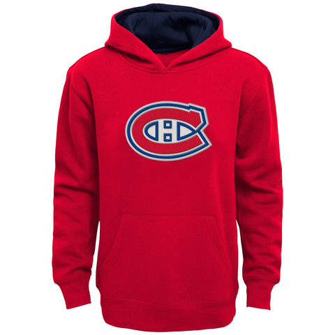 Youth Montreal Canadiens NHL Prime Pullover Fleece Hoodie