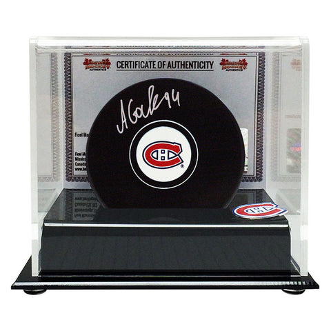 Alex Galchenyuk Signed Montreal Canadiens Puck