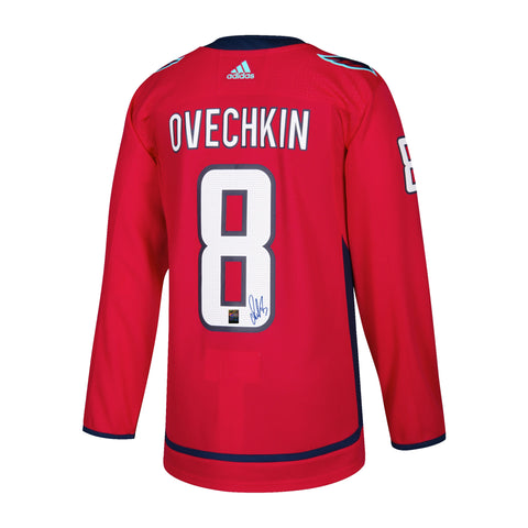 Alexander Ovechkin Signed Washington Capitals Adidas Home Jersey