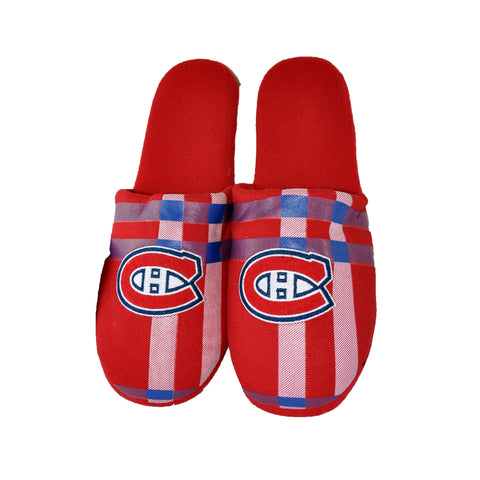 Montreal Canadiens NHL Flannel Slippers