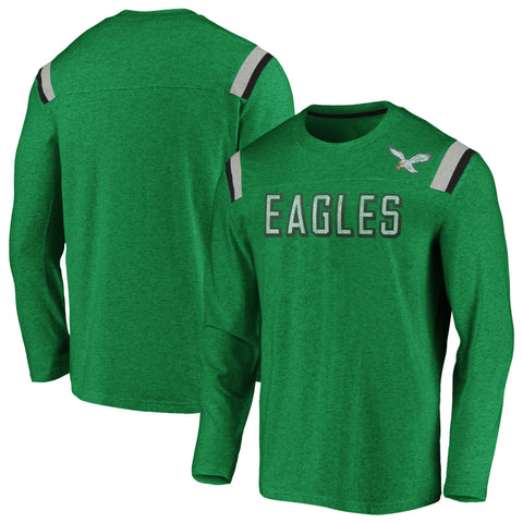 Philadelphia Eagles NFL Fanatics Vintage Slub Long Sleeve