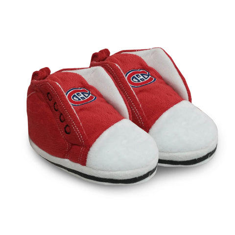 Montreal Canadiens High Top Baby Bootie